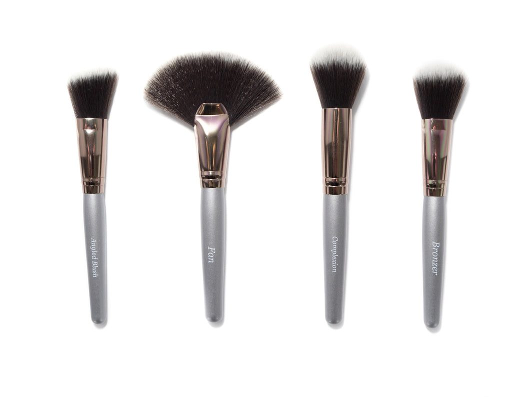 Tru Beauty 4pc Makeup Brush Collection