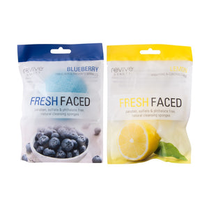 Revive Konjac Sponge (Blueberry/Lemon)