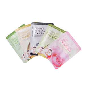 Tru Beauty Skin Essentials Face Mask Set - 5 Pack