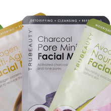 Load image into Gallery viewer, Tru Beauty Skin Essentials Face Mask Set - 5 Pack