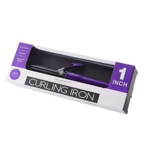 "TruBeauty 1"" LED Curling Iron - Purple"