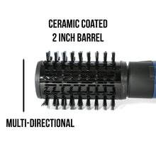 Load image into Gallery viewer, Tru Beauty Rotating Hot Air Brush - Royal Blue