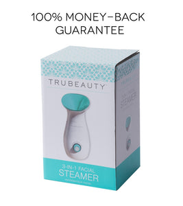 Tru Beauty 3-in-1 Facial Steamer, Humidifier, Towel Warmer
