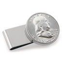 Half Dollar Coin Stainless Steel Money Clip, Silver Tone, Monogrammed, Choose The Year To Commemorate - The New Deal Shop ?id=17120871940259