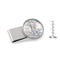 Half Dollar Coin Stainless Steel Money Clip, Silver Tone, Monogrammed, Choose The Year To Commemorate - The New Deal Shop ?id=17120872038563