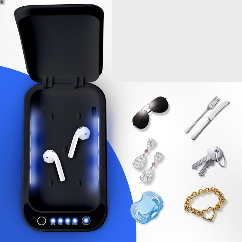 """The Clean Phone Basic"" UV Phone Sanitizer and Charger - The New Deal Shop"