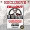 Fallout - Exclusive VIP autographed copy, includes private Q&A session with John Solomon