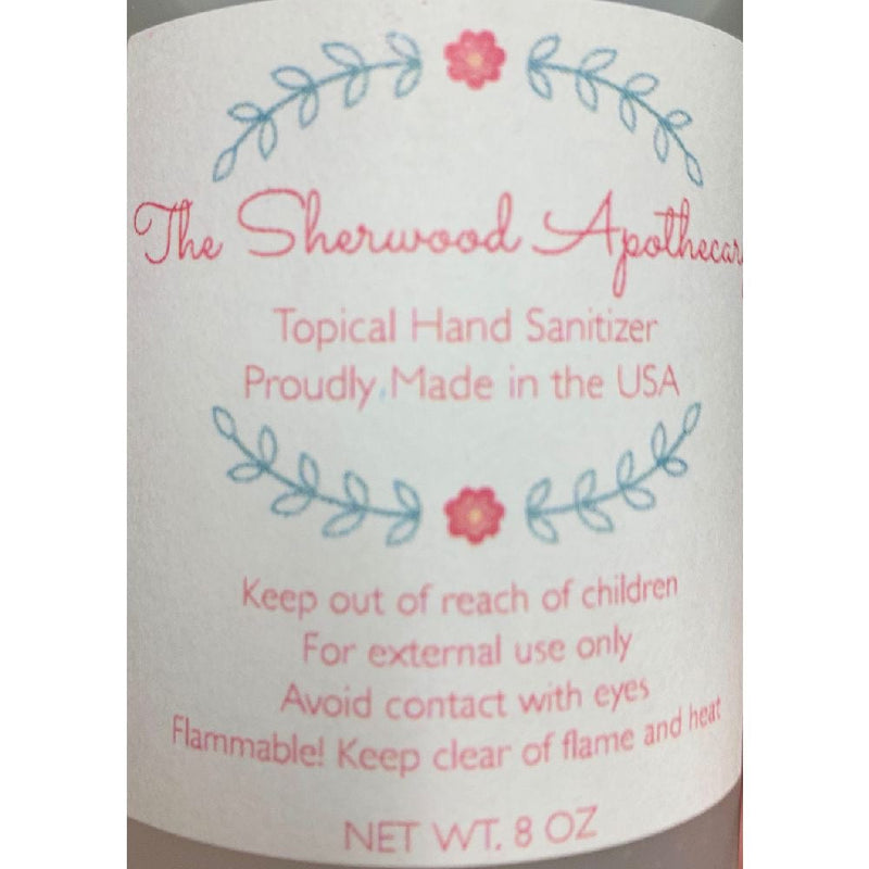 Sherwood Apothecary Hand Sanitizer, Alcohol-Based, Aloe Vera Gel, Lavender Infused (8oz Bottles) - The New Deal Shop ?id=16355751854125