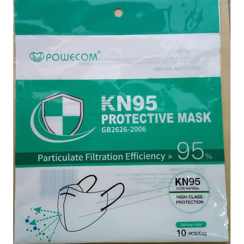 KN95 Respirator Masks, FDA Authorized, NPPTL Tested, Anti-Fraud Technology - The New Deal Shop