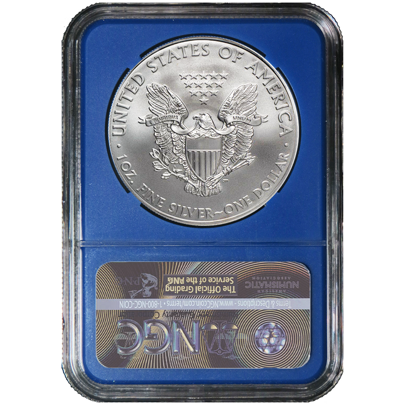 2020 3-Piece Silver Eagle Set NGC MS70 With Trump Label and Storage Box - America First Shop