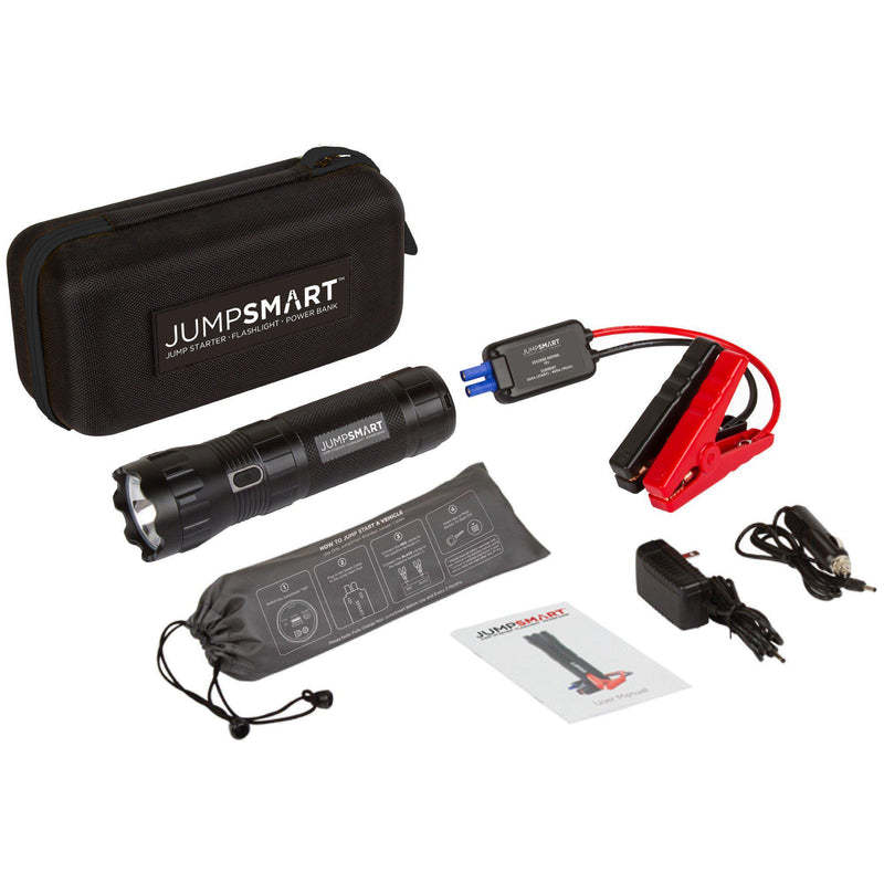 JumpSmart Portable Power and Car Jump Starter with Flashlight - America First Shop