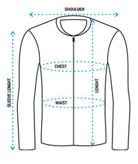 Bomber Jacket Size Chart for Women at The Localitee