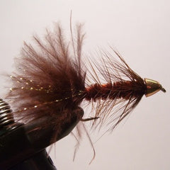 Conehead Wooly Bugger (brown)