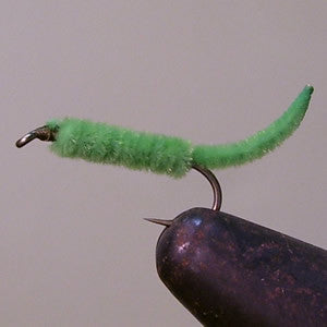 Inchworm (insect green)