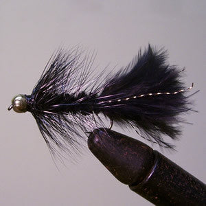 Conehead Wooly Bugger (black)