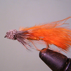 Orange Marabou Muddler