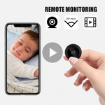 Wifi Mini HD Security Camera/ Remote Baby Monitor With Night Vision