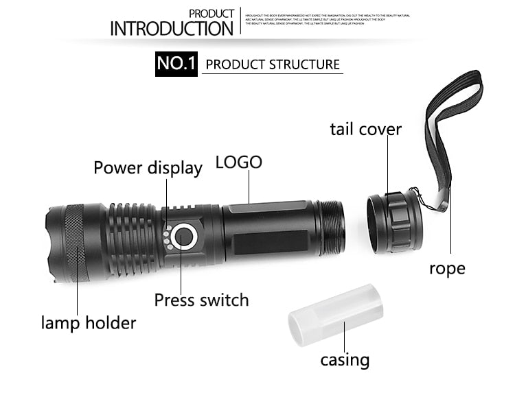 Ultra Powerful LED Flash Light