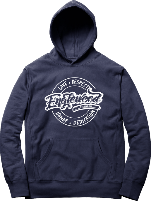 Love Respect Honor Dedication Hoodie (Navy)