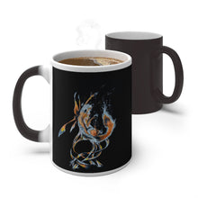 Load image into Gallery viewer, Fox Adrift Color Changing Mug