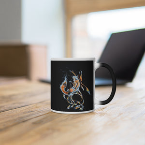 Fox Adrift Color Changing Mug