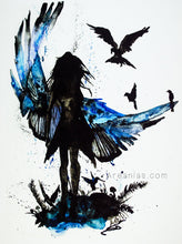Load image into Gallery viewer, Growing Wings art print