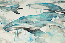 Load image into Gallery viewer, Whales Dream art print