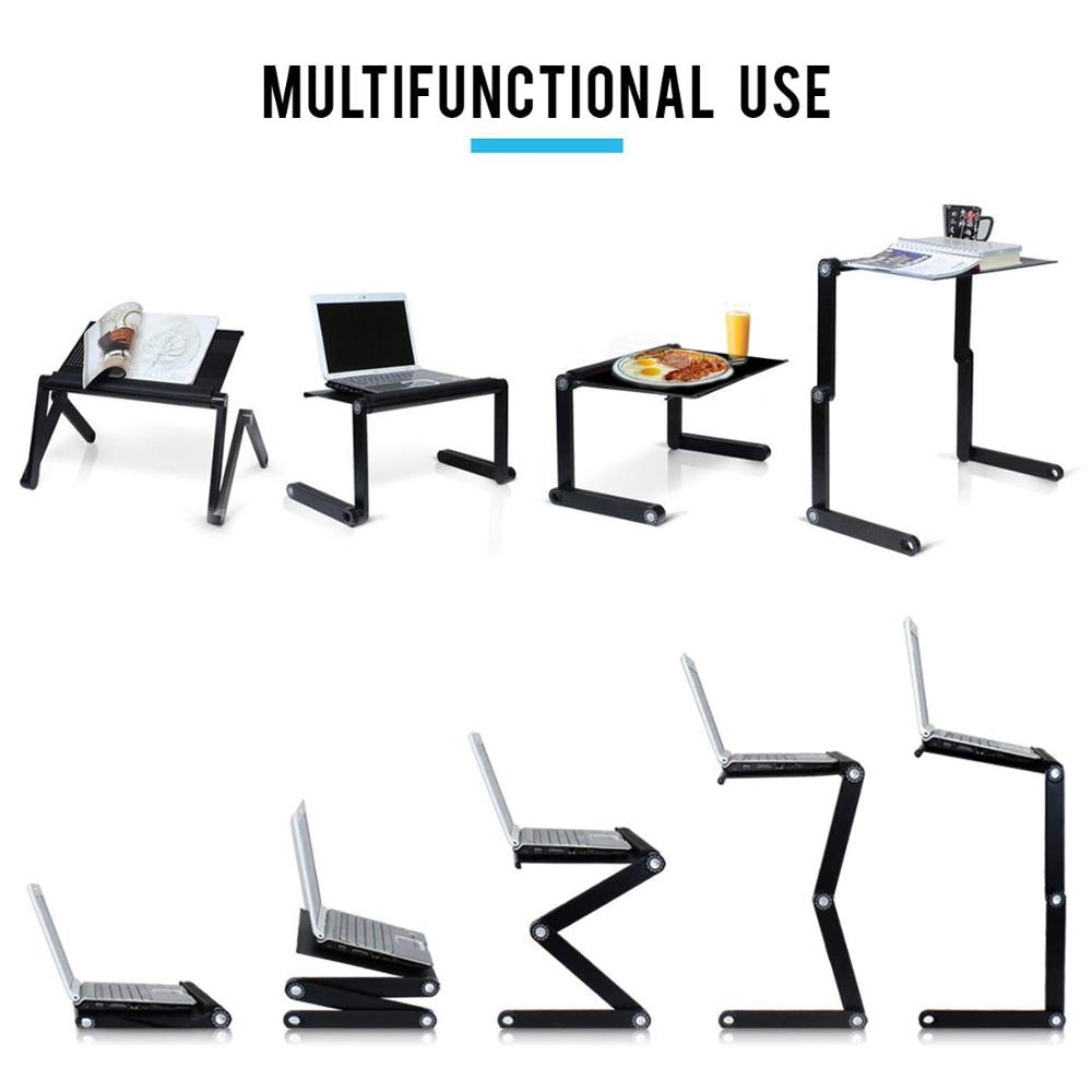 Flexi-Ergonomic Multi-Functional Laptop Table