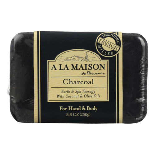 A La Maison - Bar Soap - Charcoal - 8.8 Oz A La Maison Bath And Body - Peach Ruby