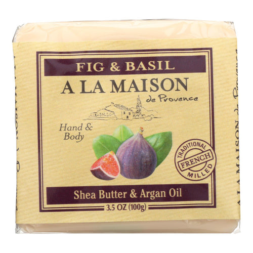 A La Maison - Bar Soap - Fig And Basil - Case Of 6 - 3.5 Oz A La Maison Bath And Body - Peach Ruby