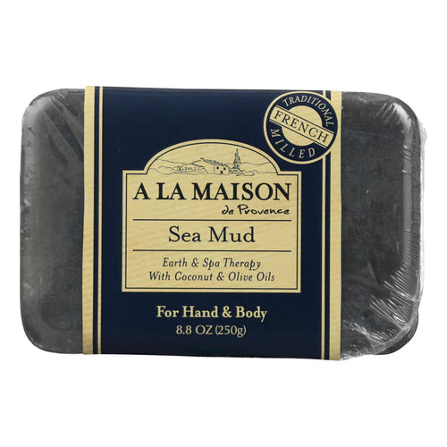 A La Maison - Bar Soap - Sea Mud - 8.8 Oz A La Maison Bath And Body - Peach Ruby
