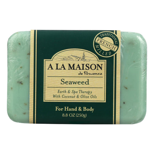 A La Maison - Bar Soap - Seaweed - 8.8 Oz A La Maison Bath And Body - Peach Ruby