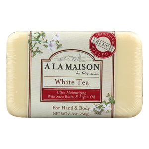 A La Maison - Bar Soap - White Tea - 8.8 Oz A La Maison Bath And Body - Peach Ruby