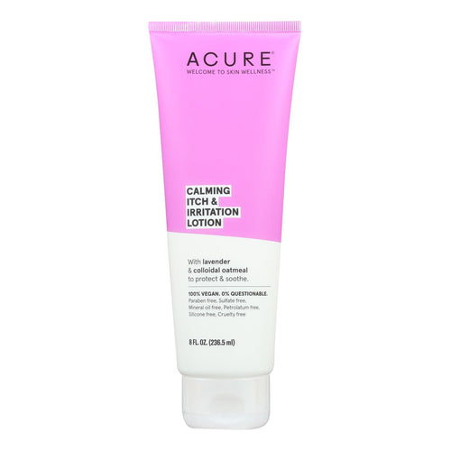Acure - Lotion - Calming Itch And Irritation Lotion - Lavendar And Oatmeal - 8 Fl Oz. Acure Bath And Body - Peach Ruby