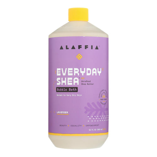 Alaffia - Everyday Bubble Bath - Lavender - 32 Fl Oz. Alaffia Bath And Body - Peach Ruby