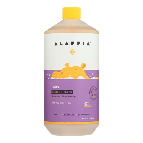 Alaffia - Everyday Bubble Bath - Lemon Lavender - 32 Fl Oz. Alaffia Bath And Body - Peach Ruby