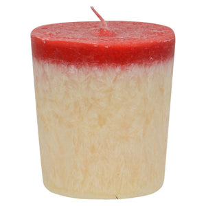 Aloha Bay - Votive Candle - Love - Case Of 12 - 2 Oz Aloha Bay Candles And Incense - Peach Ruby