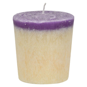 Aloha Bay - Votive Candle - Peace - Case Of 12 - 2 Oz Aloha Bay Candles And Incense - Peach Ruby
