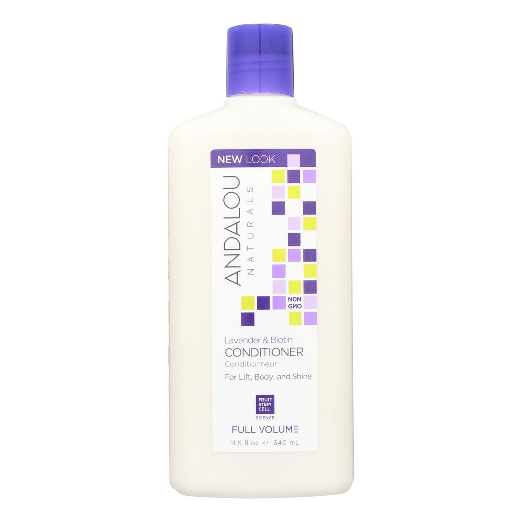 Andalou Naturals Full Volume Conditioner Lavender And Biotin - 11.5 Fl Oz Andalou Naturals Hair Care - Peach Ruby