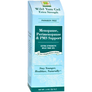 At Last Naturals Wild Yam Gel - Extra Strength - 2 Oz. At Last Naturals Personal Care - Peach Ruby