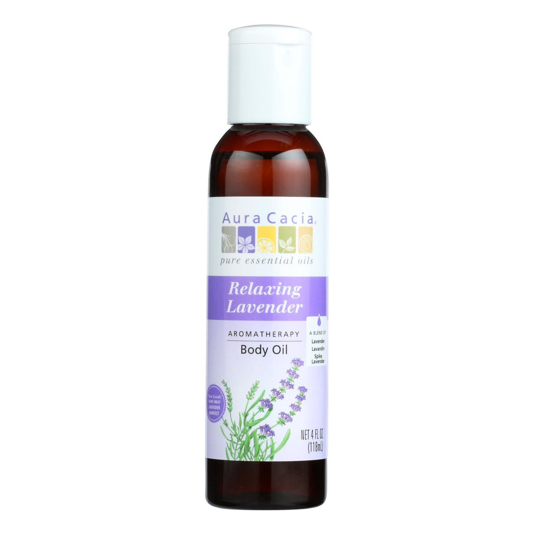 Aura Cacia - Aromatherapy Body Oil Lavender Harvest - 4 Fl Oz Aura Cacia Botanicals And Herbs - Peach Ruby