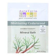 Load image into Gallery viewer, Aura Cacia - Aromatherapy Mineral Bath Meditation - 2.5 Oz - Case Of 6 Aura Cacia Botanicals And Herbs - Peach Ruby