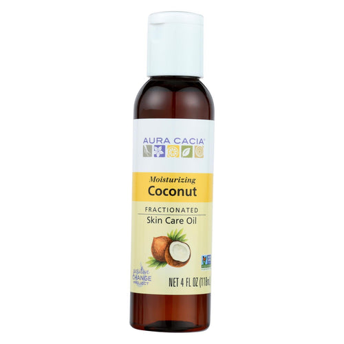 Aura Cacia - Body Oil - Coconut - 4 Fl Oz. Aura Cacia Botanicals And Herbs - Peach Ruby