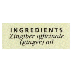 Aura Cacia - Essential Oil Ginger - 0.5 Fl Oz Aura Cacia Botanicals And Herbs - Peach Ruby