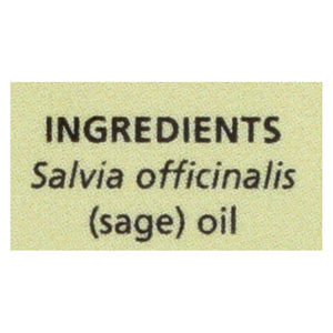 Aura Cacia - Essential Oil Sage - 0.5 Fl Oz Aura Cacia Botanicals And Herbs - Peach Ruby