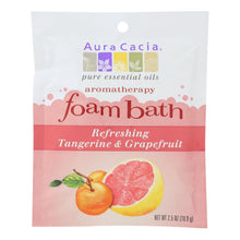 Load image into Gallery viewer, Aura Cacia - Foam Bath Refeshing Tangerine And Grapefruit - 2.5 Oz - Case Of 6 Aura Cacia Botanicals And Herbs - Peach Ruby