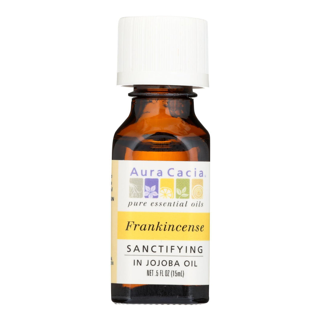 Aura Cacia - Frankincense In Jojoba Oil - .5 Oz Aura Cacia Botanicals And Herbs - Peach Ruby