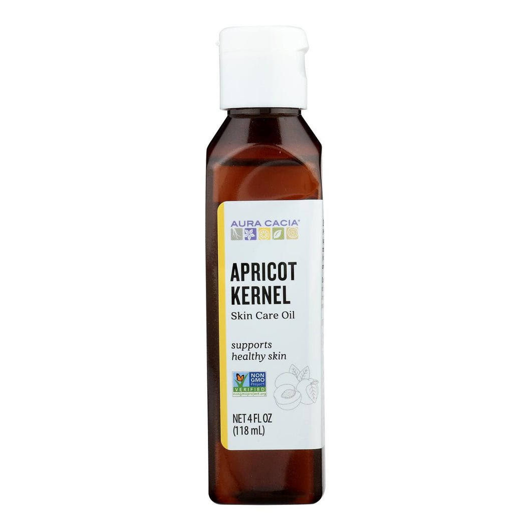 Aura Cacia - Natural Skin Care Oil Apricot Kernel - 4 Fl Oz Aura Cacia Personal Care - Peach Ruby