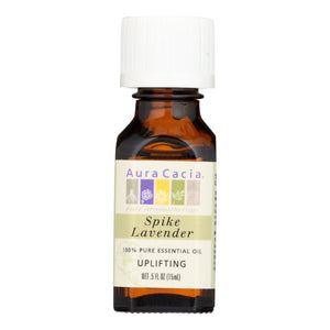 Aura Cacia - Pure Essential Oil Spike Lavender - 0.5 Fl Oz Aura Cacia Botanicals And Herbs - Peach Ruby