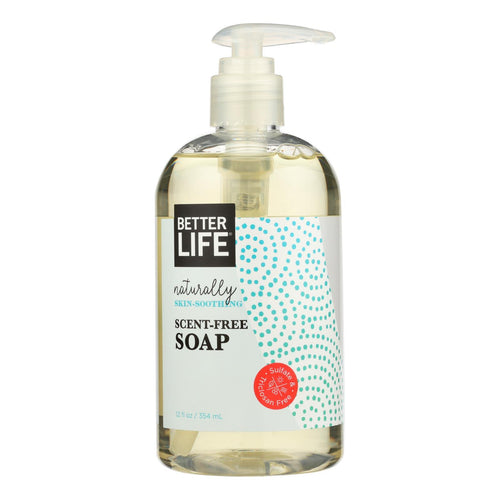 Better Life Hand And Body Soap - Unscented - 12 Fl Oz. Better Life Bath And Body - Peach Ruby